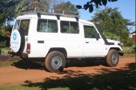 Toyota Landcruiser Troop Carrier